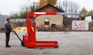 Самоходный индустриальный электрогидравлический Мини-кран ИНД Э