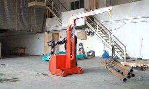 Самоходные индустриальные электрогидравлические краны ИНД ПР Э